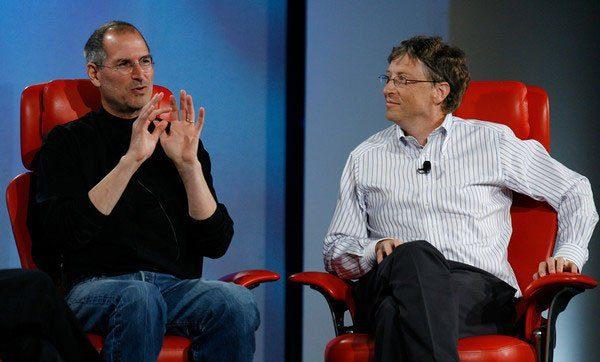 Jobs guardou uma carta, de Gates