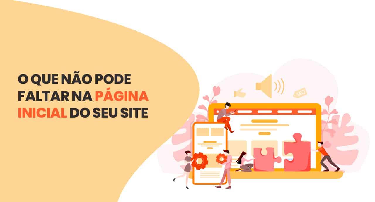 Exemplo de home page: itens obrigatórios na primeira página dos sites