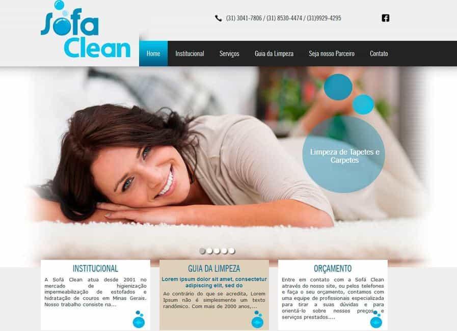 Sofá Clean