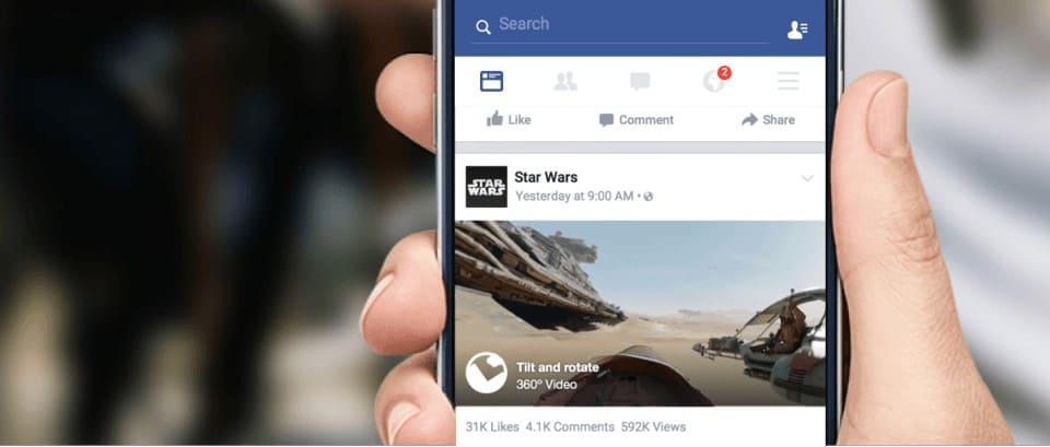 FACEBOOK: Fotos 360º no feed de notícias