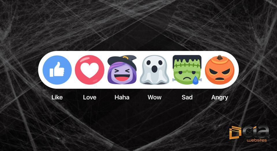 Os novos botões de reações do Facebook