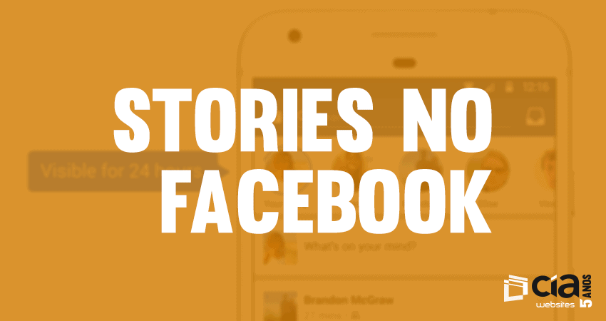 "Facebook entra na onda dos ""stories"""