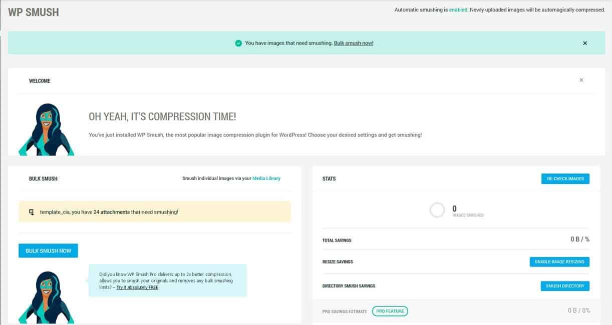 Tratamento de Imagens para sites em WordPress 1