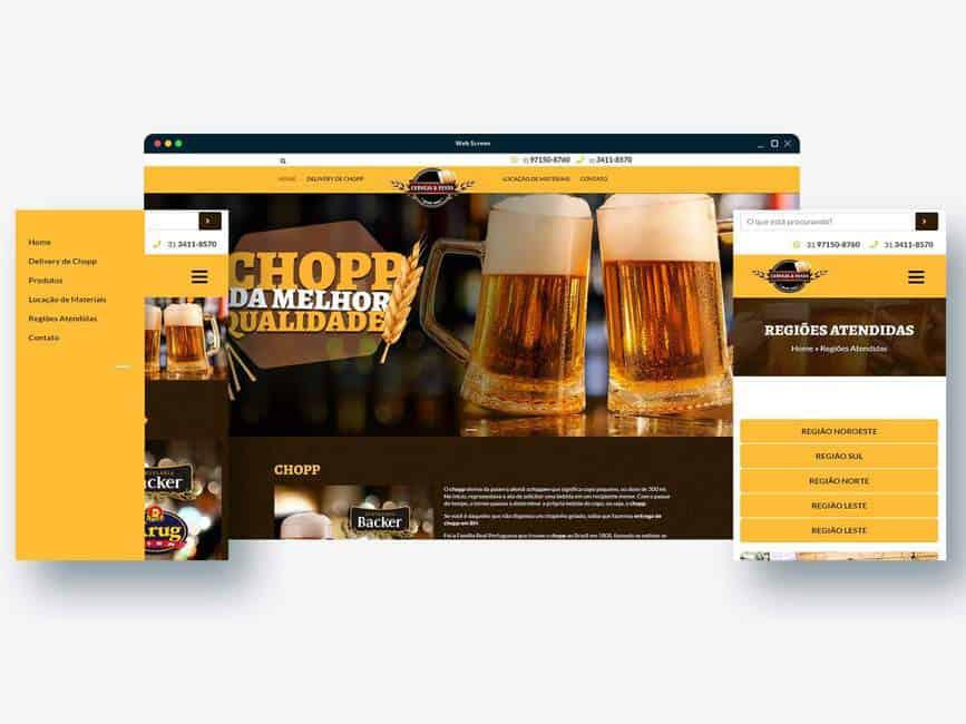 Cerveja e festa