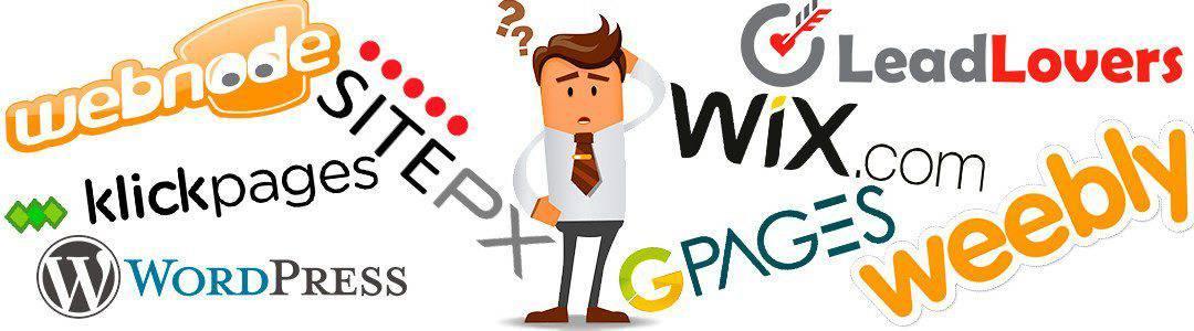Por que É um Erro Criar um Site no Wix e no Webnode?
