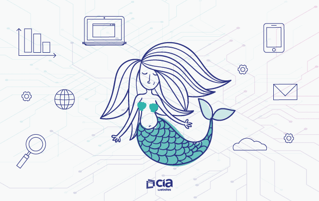 Marketing Visual: a Sereia que encanta seus clientes no mar da web
