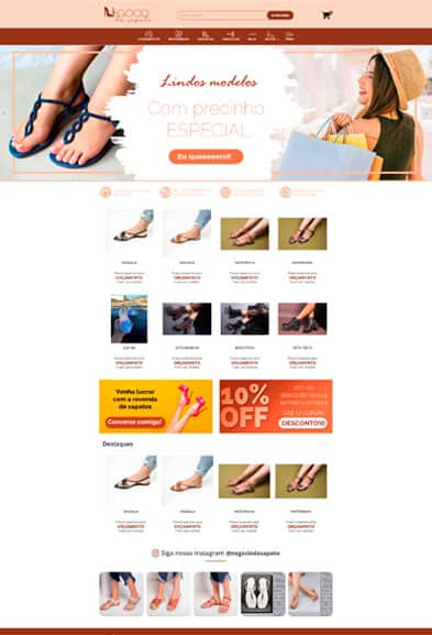 Negócio de sapato
