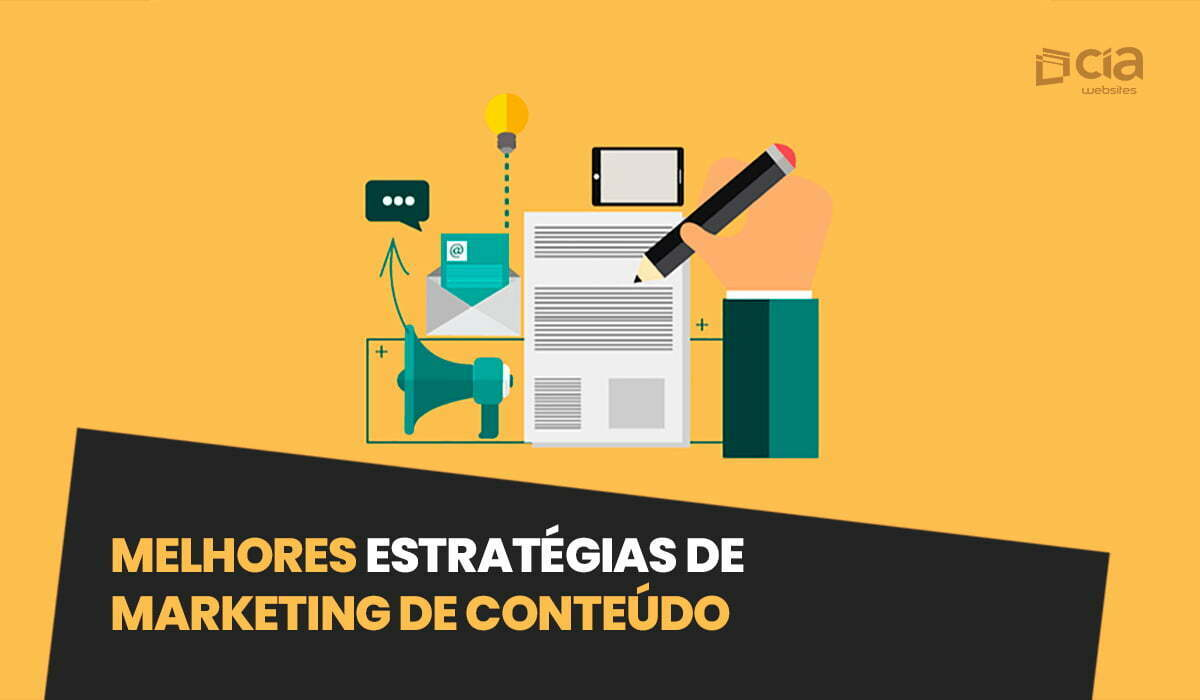 Melhores estratégias de marketing de conteúdo